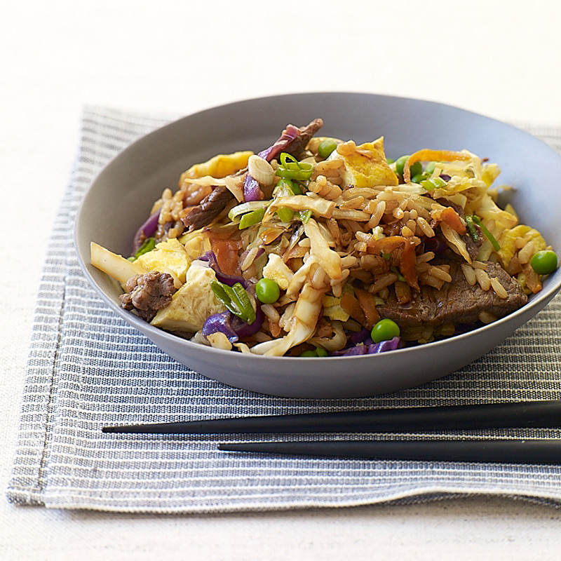 Photo of Beef fried rice with fresh ginger by WW