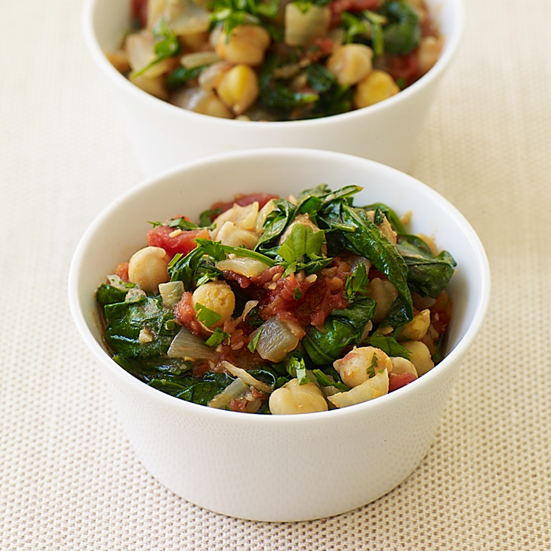 Photo of Chickpea and spinach stew by WW