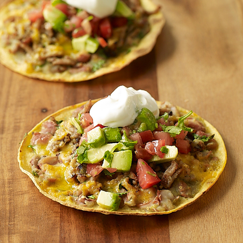 Photo of Chicken and black bean tostada by WW
