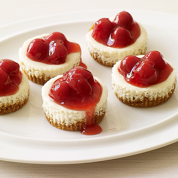 WeightWatchers.com: Weight Watchers Recipe - Cherry Cheesecakes