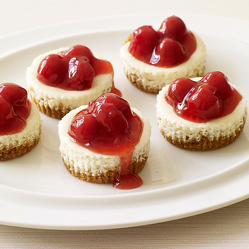 Photo of Individual cherry cheesecakes by WW
