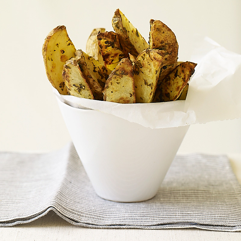 Photo of Roasted herb potato wedges by WW