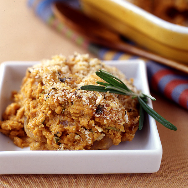 Photo of Pumpkin gratin with crispy rosemary-Parmesan topping by WW