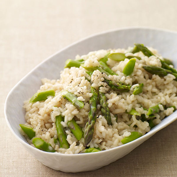Asparagus Risotto Recipe — Dishmaps