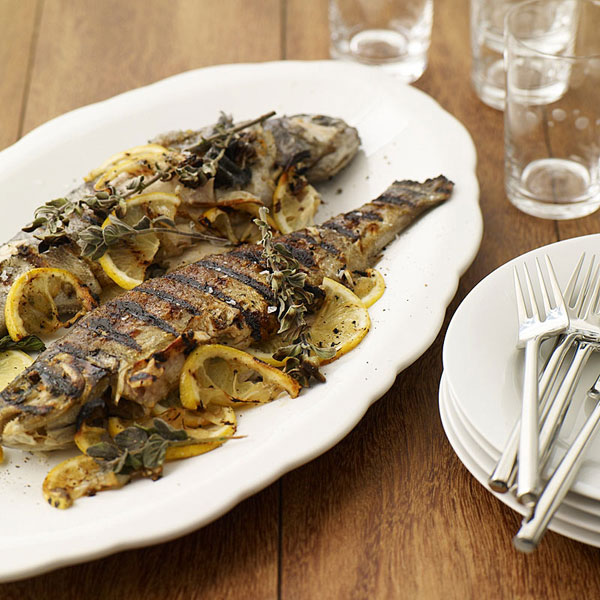 Photo of Grilled trout stuffed with lemon and oregano by WW