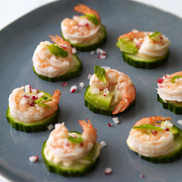 Weight watchers recipe shrimp and for Simple canape appetizer