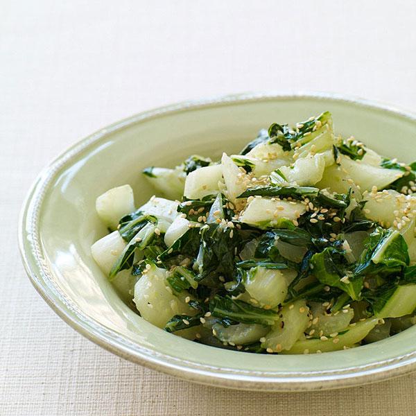 Photo of Stir-Fried Bok Choy with Sesame Seeds by WW