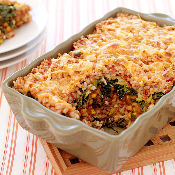 ... .com: Weight Watchers Recipe - Mexican Style Brown Rice Casserole