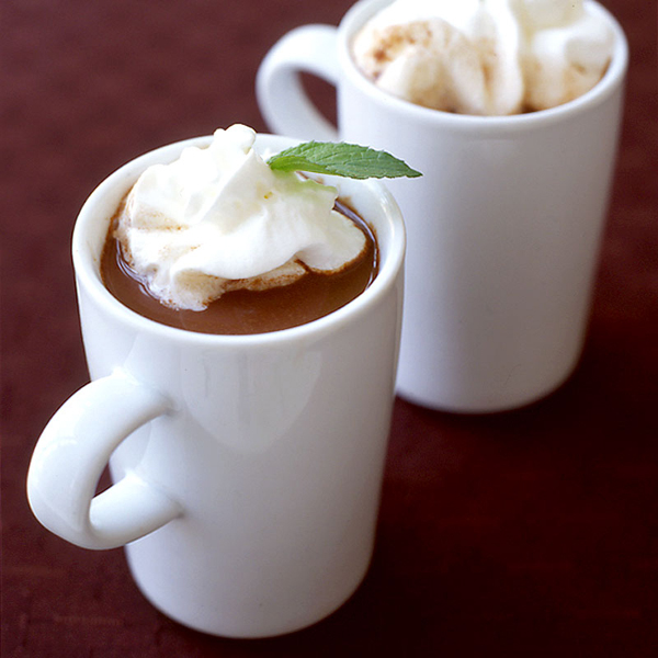 tequila mint hot chocolate fresh mint hot chocolate chocolate mint ...