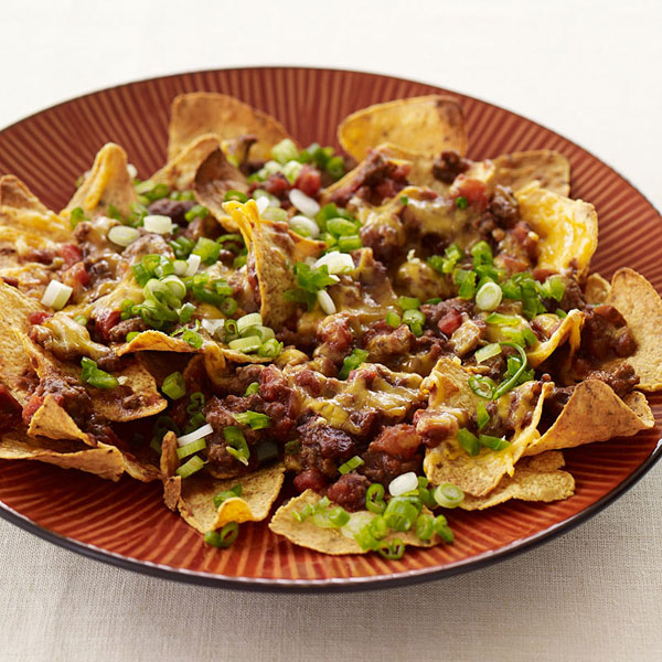 Recipe for nachos with meat