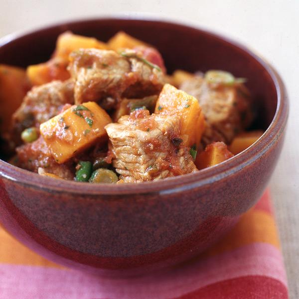 Pork potato stew recipe