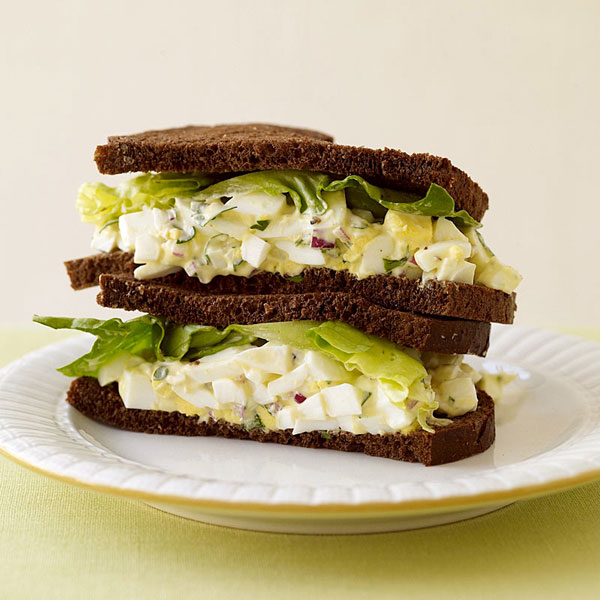 WeightWatchers.com: Weight Watchers Recipe - Egg Salad Sandwich