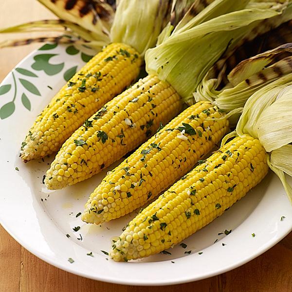 WeightWatchers.com: Weight Watchers Recipe - Garlic Herb Grilled Corn