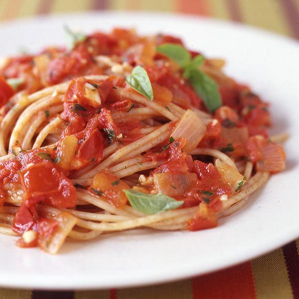 Photo of Pomodoro sauce with spaghetti by WW