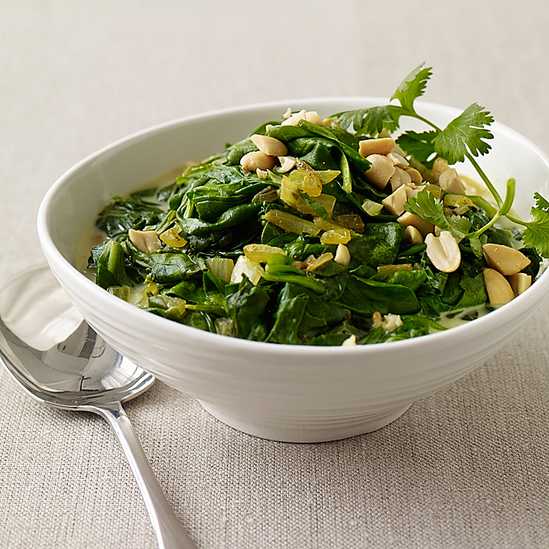 Photo of South African Curried Spinach with Peanuts by WW