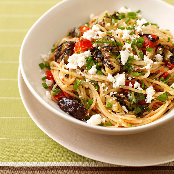 ... Weight Watchers Recipe - Angel Hair Pasta with Eggplant Tomato Sauce