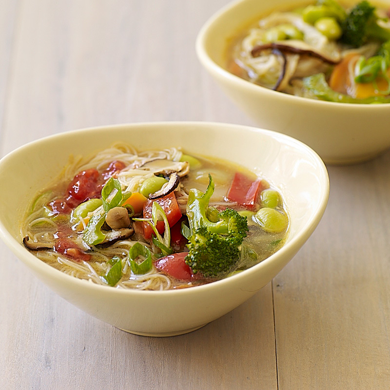 Photo of Asian noodle-vegetable soup by WW