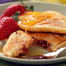 Photo of Orange-cranberry pancakes by WW