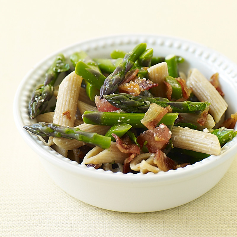 Photo of Penne with asparagus and bacon by WW