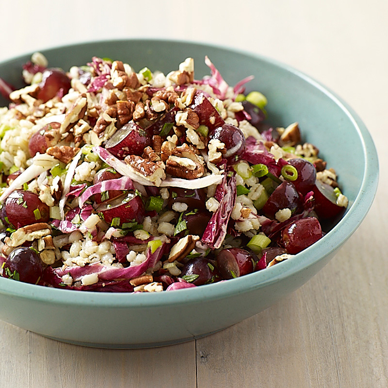 Photo of Barley salad with grapes and pecans by WW