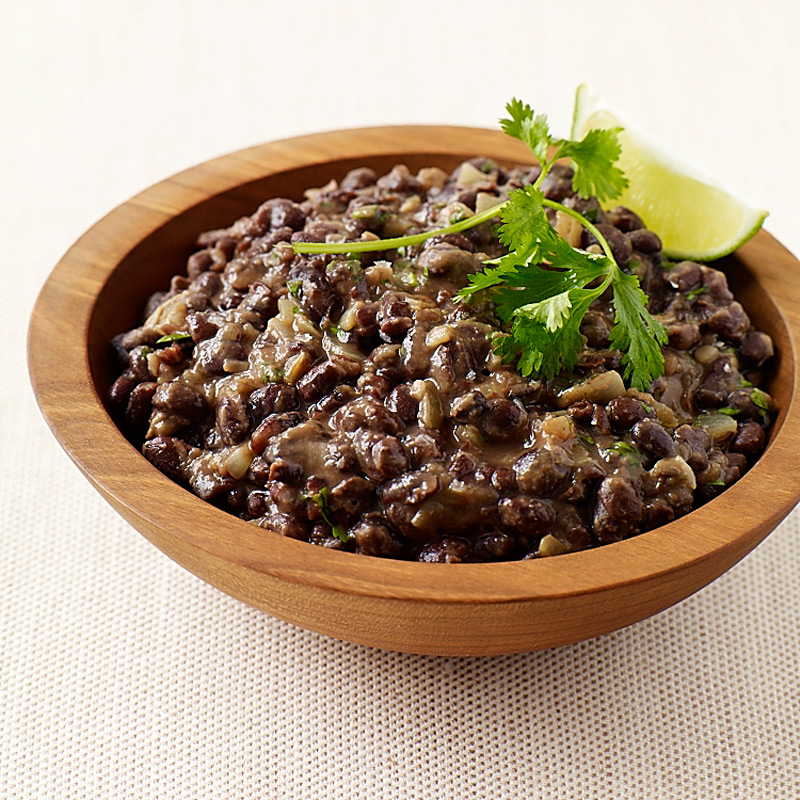 Photo of Chipotle black beans with orange and lime by WW