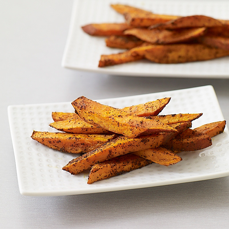 Spicy Sweet Potato Oven Fries Recipes Ww Usa