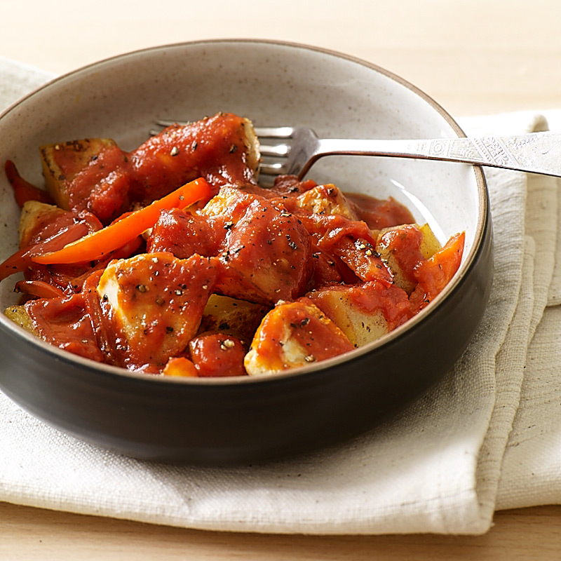 Photo of Italian-style chicken with potatoes and peppers by WW