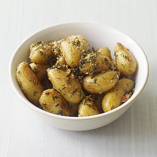... Watchers Recipe - Roasted Fingerling Potatoes with Herbs and Garlic
