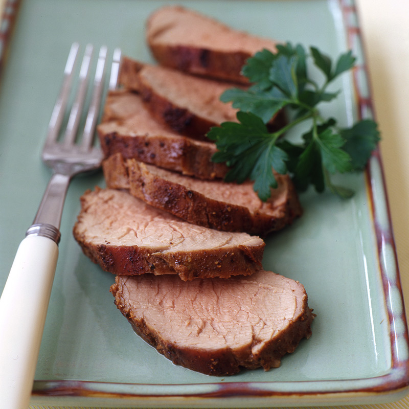 Photo of Glazed pork tenderloin by WW
