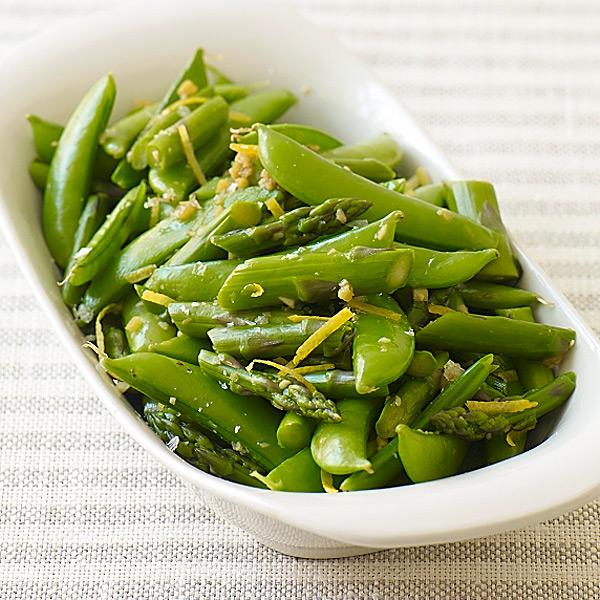 ... com: Weight Watchers Recipe - Stir Fried Asparagus and Sugar Snap Peas