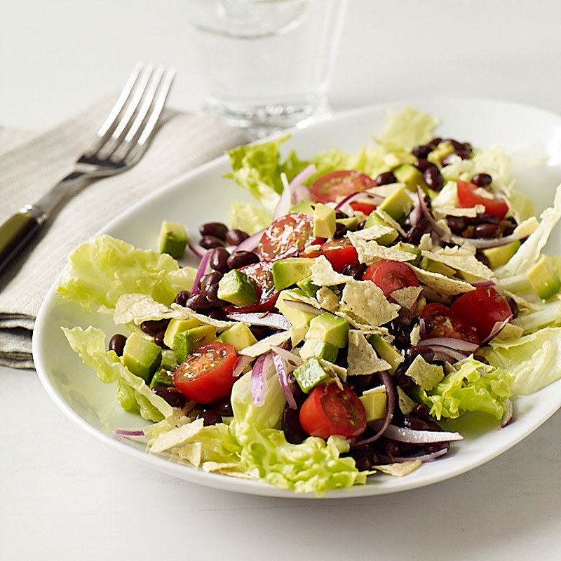 Photo of Cumin-lime black bean and avocado salad by WW