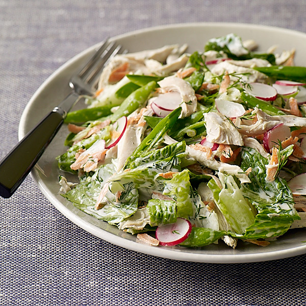 ... Watchers Recipe - Spring Chicken Salad with Creamy Dill Dressing