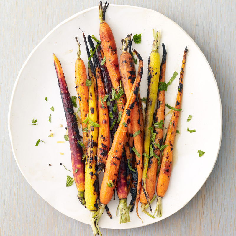 Photo of Grilled carrots with lemon and mint by WW