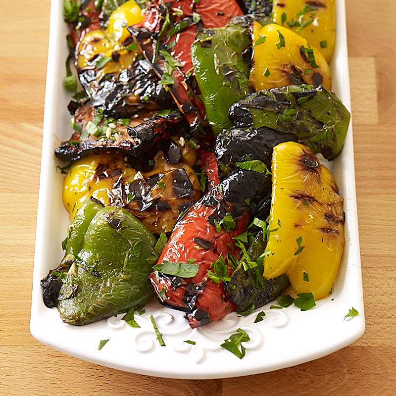 Photo of Italian grilled peppers by WW