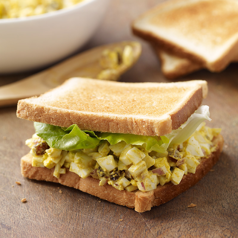 Photo of Curried Egg Salad Sandwiches by WW