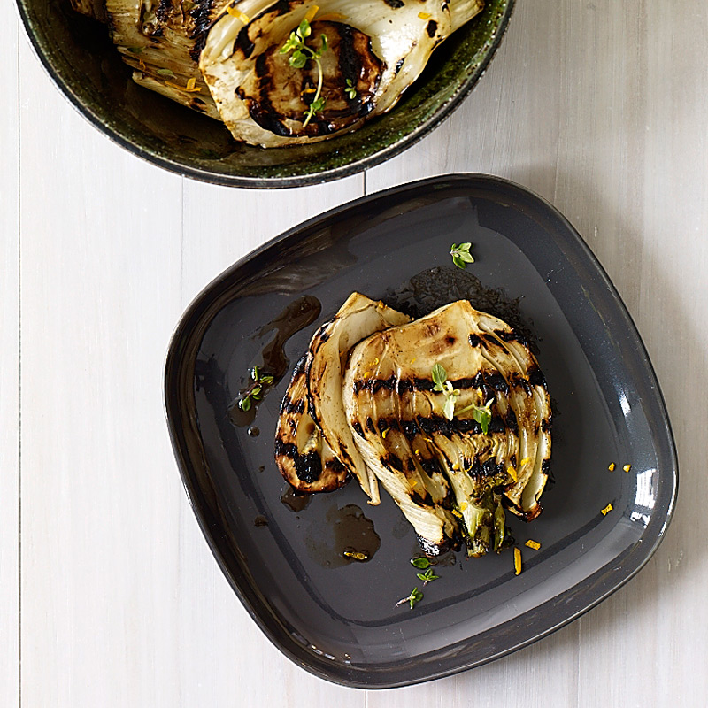 Photo of Grilled fennel with balsamic vinegar and thyme by WW
