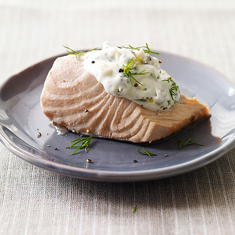 Photo of Cold Poached Salmon with Caper-Mayonnaise by WW