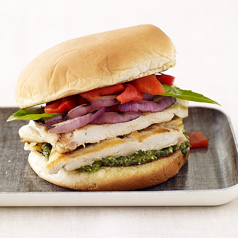 Photo of Italian-grilled chicken sandwiches by WW