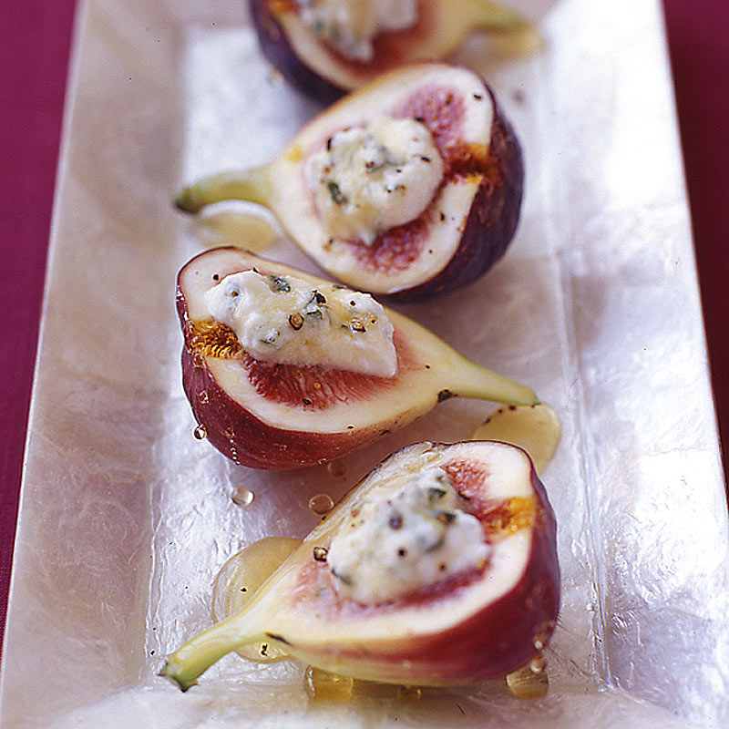 Photo of Figs stuffed with honey and goat cheese by WW