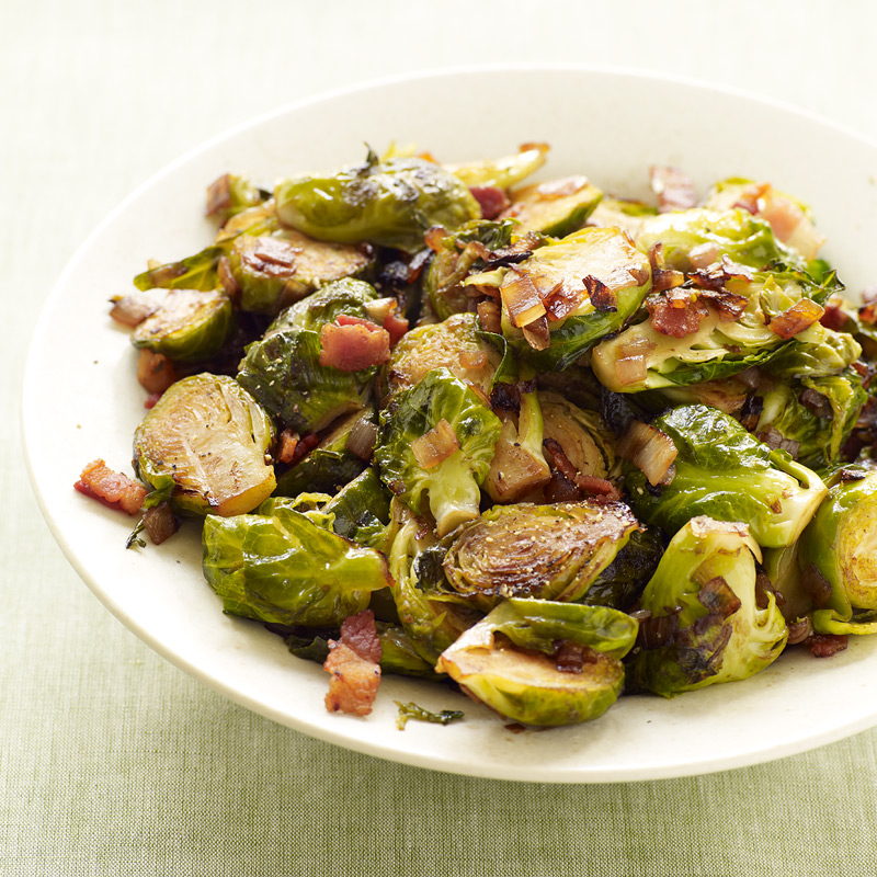 Photo of Brussels sprouts with bacon and shallots by WW