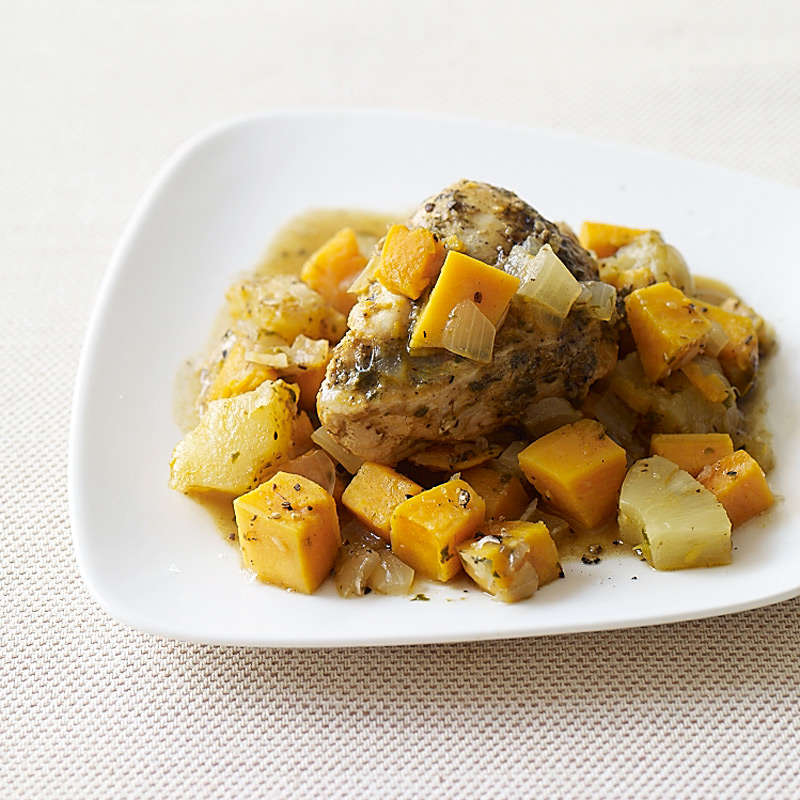 Photo of Slow cooker jerk-chicken with sweet potato and pineapple by WW