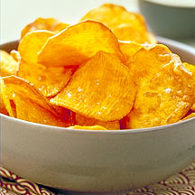Photo of Baked sweet potato chips by WW