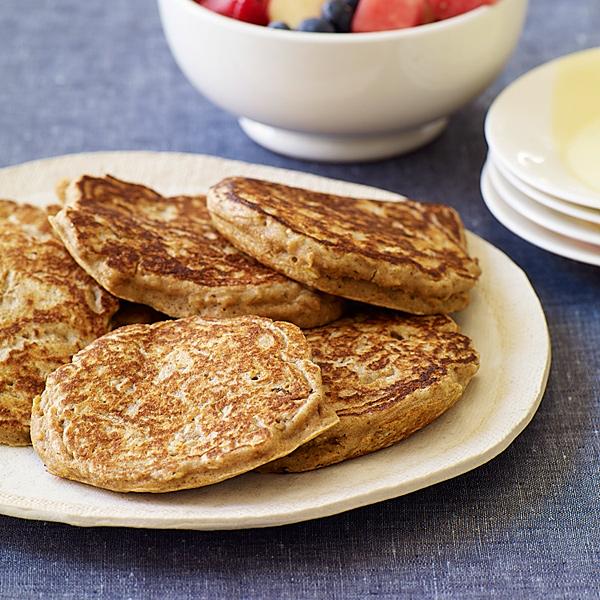 ... .com: Weight Watchers Recipe - Cinnamon Oat Whole Wheat Pancakes