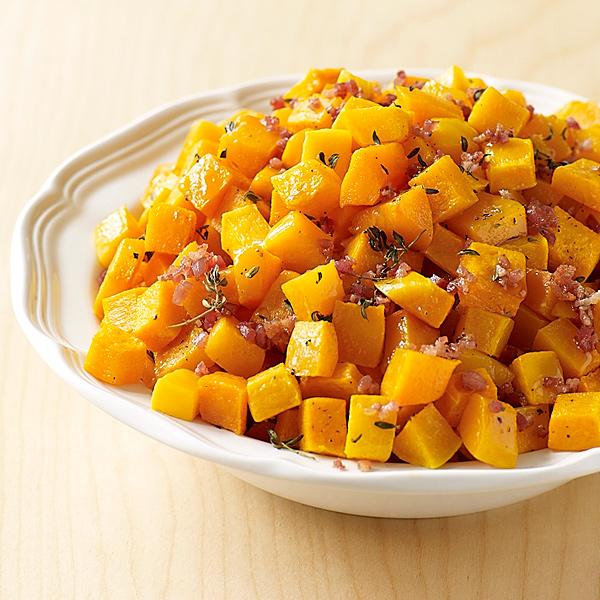 ... Weight Watchers Recipe - Maple Butternut Squash with Crispy Pancetta