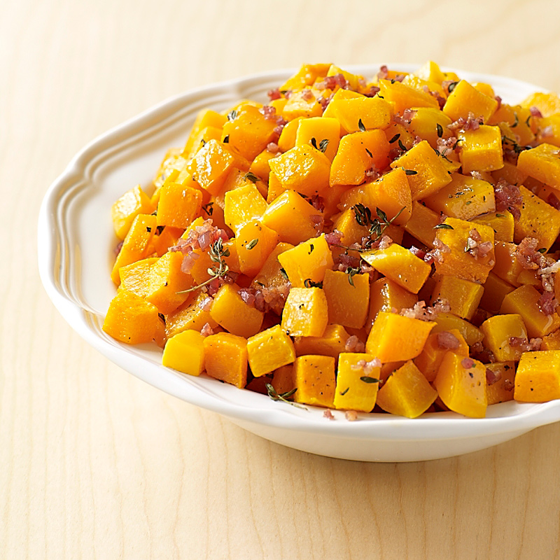 Photo of Maple butternut squash with crispy pancetta by WW