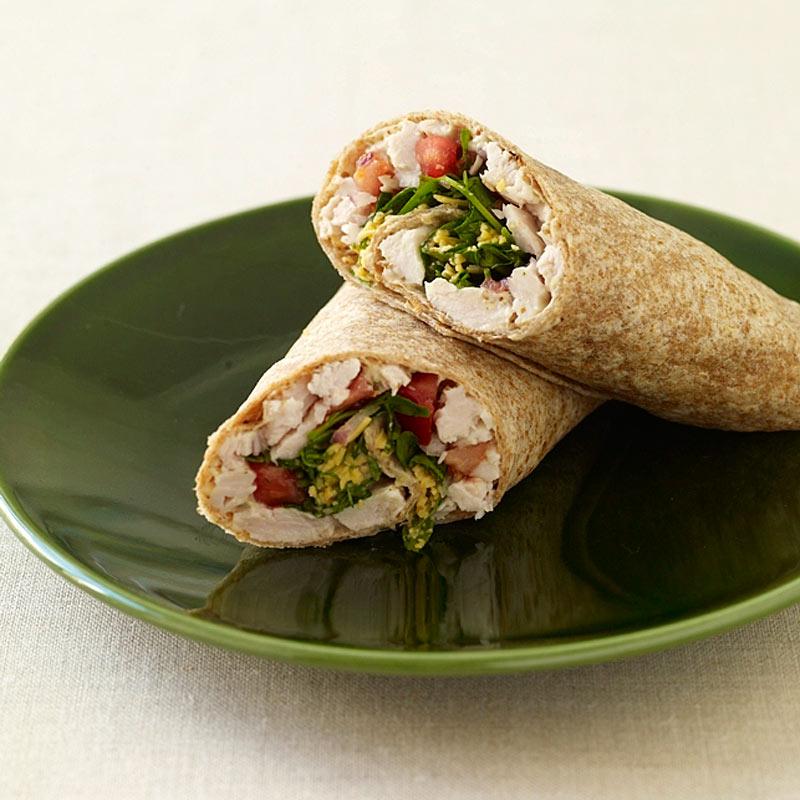 Turkey And Cheddar Wrap Recipes Ww Usa