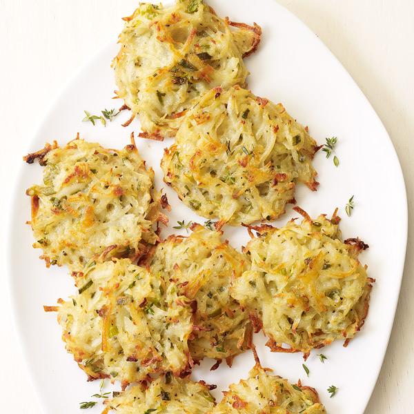 ... .com: Weight Watchers Recipe - Thyme and Scallion Potato Pancakes