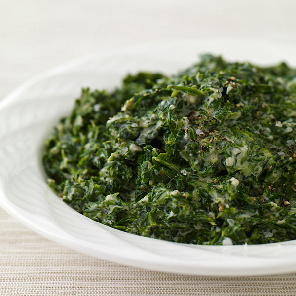 Photo of Classic creamed spinach by WW