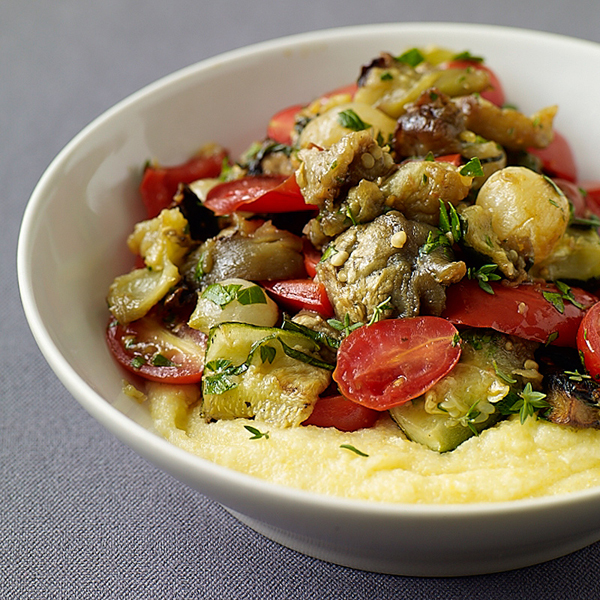 ... .com: Weight Watchers Recipe - Roasted Vegetables and Polenta Lava