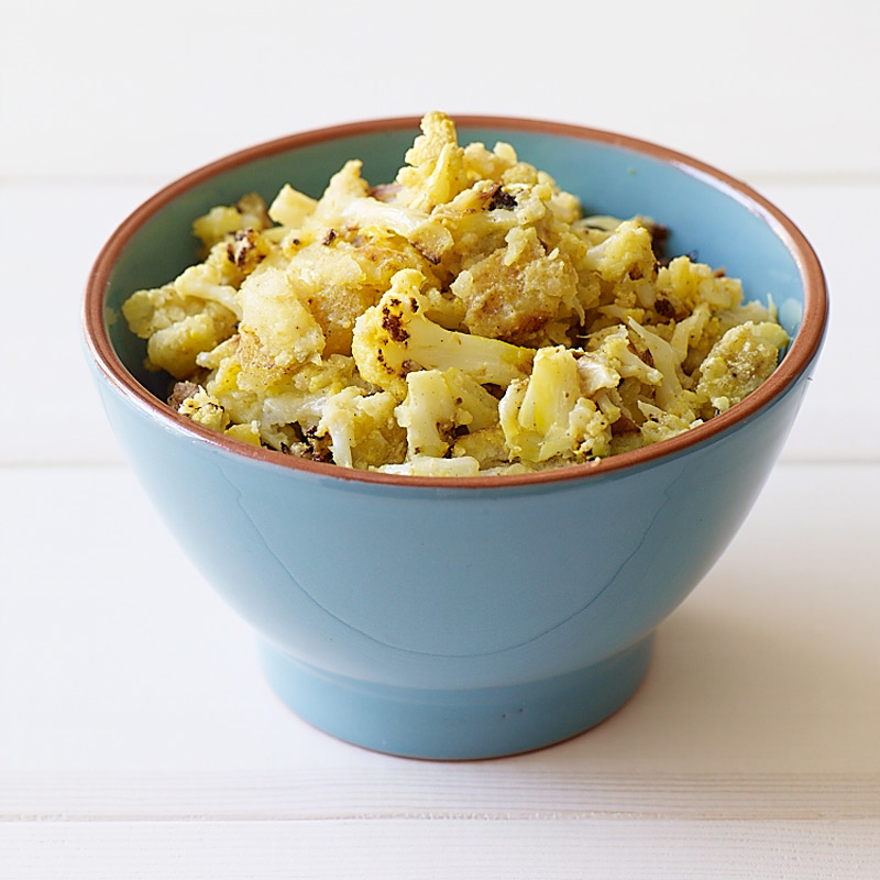 Photo of Indian-spiced cauliflower and potato mash by WW